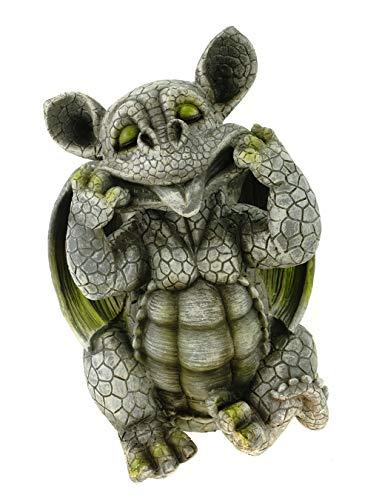 Kremers Schatzkiste Drachenkind streckt Zunge Raus Drache Gargoyle Figur