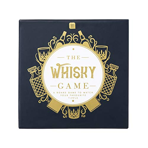 Juego de mesa de trivia con temática de whisky | Noche de juegos | Adultos, después de la cena, juego de mesa, regalo de los amantes del whisky para él en el día del padre, Navidad, cumpleaños