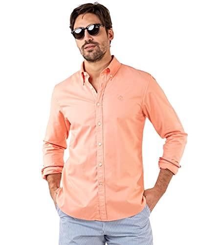El Ganso Camisa Garment Dyed Naranja