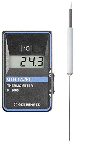 GHM Greisinger HACCP temperatuurmeter incl. mini-teflon steeksensor GTH 175 PT-G, 9 V