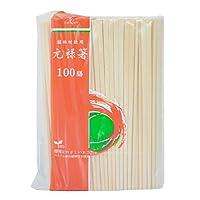 植林材元禄箸100膳(紙袋なし)