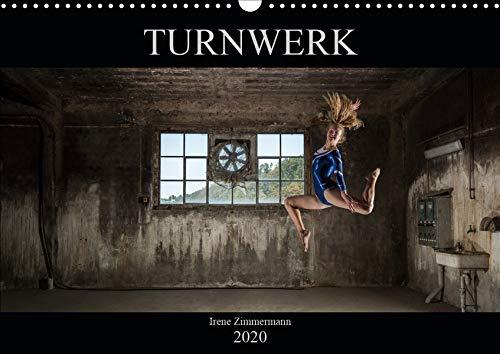 Turnwerk (Wandkalender 2020 DIN A3 quer): Turnen in einer alten Fabrik (Monatskalender, 14 Seiten ) (CALVENDO Sport)