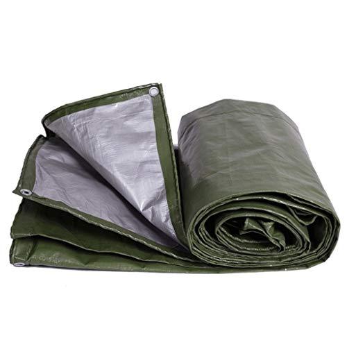 Waterdicht zeil van polyethyleen, eenvoudig op te vouwen voor tent, camping, hangmat, zwembad, tuin, auto, motorfiets, boot