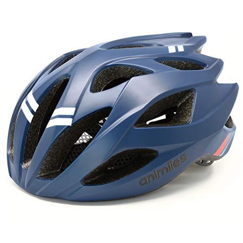 animiles Bike Bicycle Helmet, Lightweight Adjustable Helmet for mountain bike Urban Commuter (Blue)