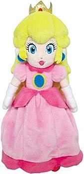 Little Buddy Super Mario All Star Collection 1418 Peach Stuffed Plush 10 ,Multicolor