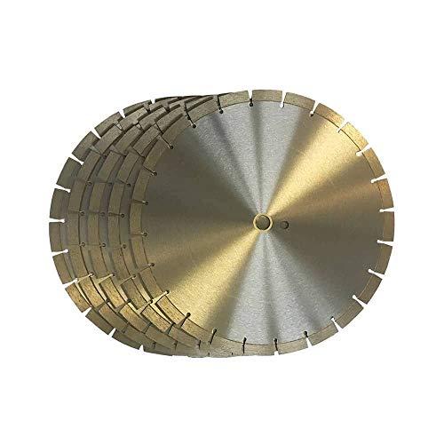 5pc 14' Segmented Diamond Saw Blade for Concrete Brick Block and Masonry 15mm Segment Height