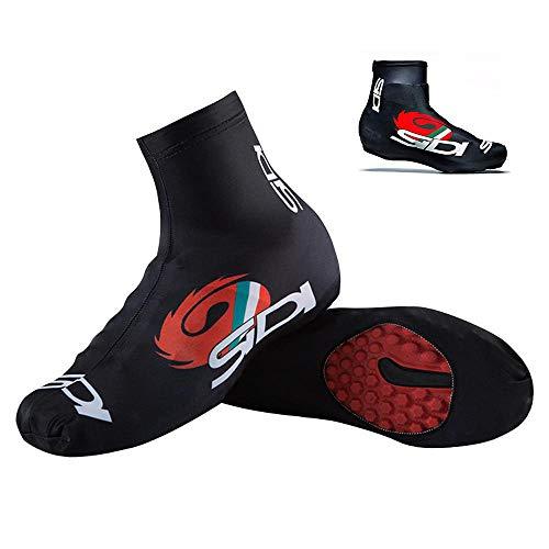 COTTILE Couvre-Chaussures de Cyclisme Couvre-Chaussures antid/érapants Couvre-Chaussures de Pluie Portables en Silicone pour la Pluie et Les Jours de Neige Routes boueuses