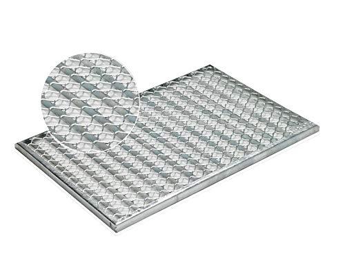ACO Self® Vario Schuhabstreifer - Streckmetallrost 60 cm x 40 cm (B x H)