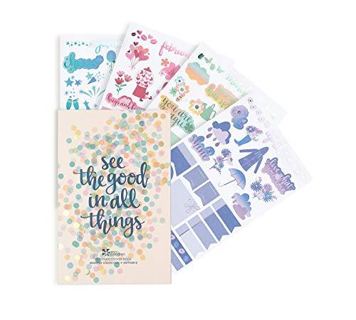 Erin Condren Monthly Sticker Book, Edition 6