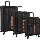 Timberland 3-teiliges Koffer-Set, leichtgewichtig, Jet Black (Schwarz) - 3193P02