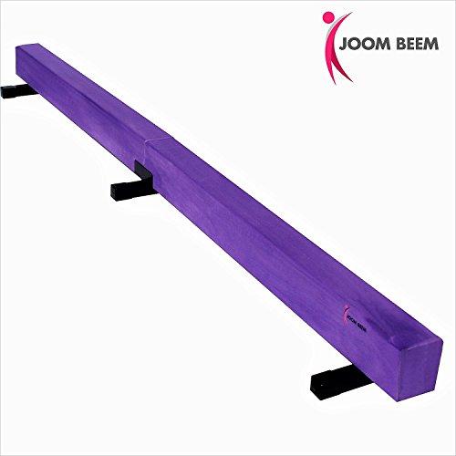 Joom Beem Purple 8FT SUEDE BALANCE BEAM LOW PROFILE