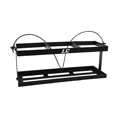 LC LC2 Jug Rack (3 Jug / 10.5in x 31.5in) (Black)