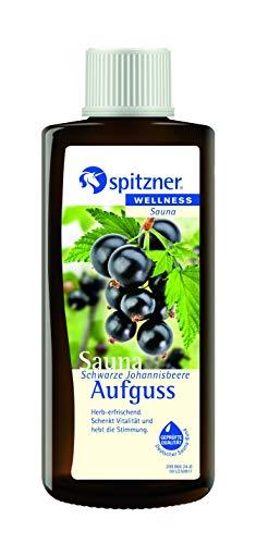 Spitzner Saunaaufguss Schwarze Johannisbeere 190ml