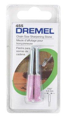Dremel 455 7/32' Chainsaver Chain Saw Sharpening Grinding Wheel