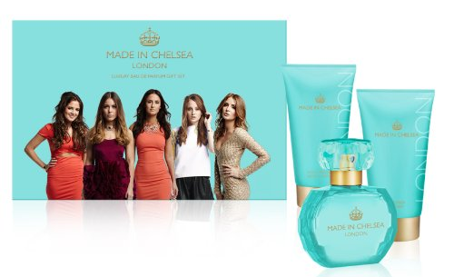 Made in Chelsea Coffret Eau de Parfum 50 ml, Shimmer Lotion 150 ml et Crème de douche 150 ml