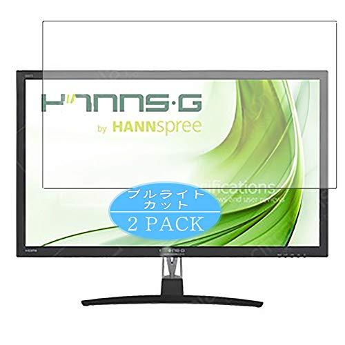 VacFun 2 Piezas Filtro Luz Azul Protector de Pantalla Compatible con Hannspree HQ272 PPB HQ272PPB 27' Display Monitor, Screen...