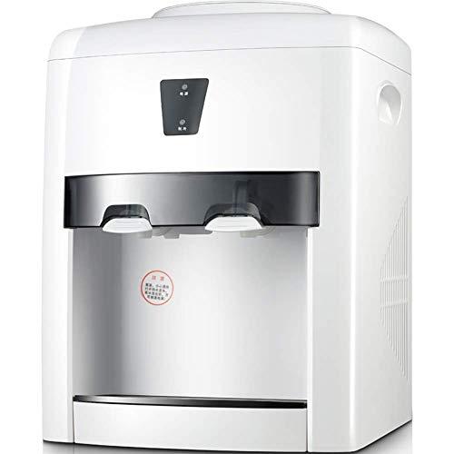 Dispensador de agua eléctrico de 3 a 5 galones, para uso en casa o en casa, color blanco