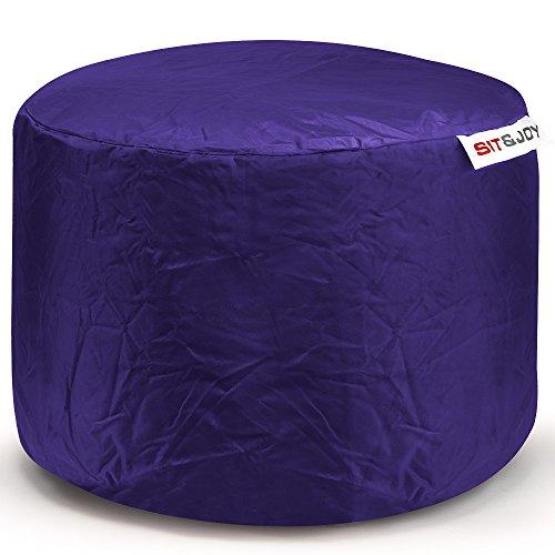 Sit&Joy Sitzkissen Sitzsack Bodenkissen Kissen Kinder-Sitzsack Sitzsack Kinder Bag Chair Lila