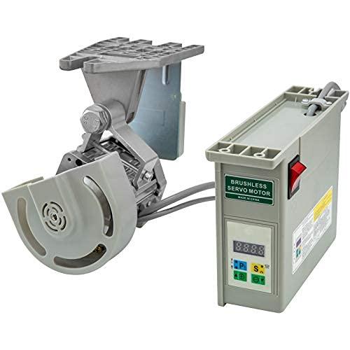 VEV Motor de la Máquina de Coser 220V 750W Servo Motor de Ahorro de Energía sin Escobillas Motor de Máquina de Coser Industrial Velocidad Máxima 4500RPM Ahorro de Energía Silencioso y Sensible
