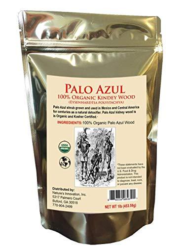 Palo Azul Wood - 16oz (1lb) - TeaTox - Palo Dulce or Palo Santo Wood - Eysenhardtia Polystachya Herb