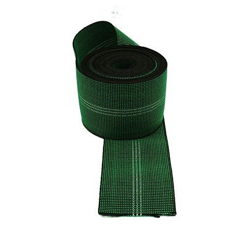 Cincha de tapicería elástica de 80 mm, correas de calidad para asientos de sofás, 6 metros