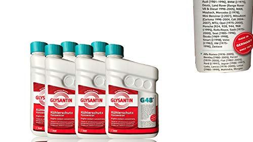 Glysantin® G48®, antivries antivries antivries antivries koelvloeistof, concentraat, koeler, vorstbescherming, medium, blauwgroen