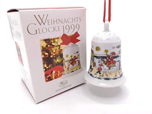Hutschenreuther - Weihnachtsglocke 1999 - Glocke Porzellan - NEU - OVP - 1. WAHL