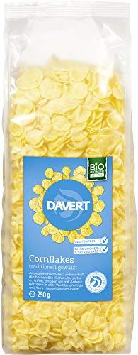 Davert Bio Corn Flakes ohne Salz und Zucker (2 x 250 gr)