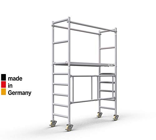 Profigerüst ALTEC AluKlik, 2,5 m bis 14 m Arbeitshöhe, TÜV-geprüft (4 m)