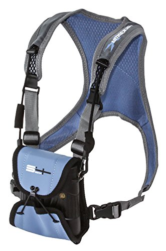 S4 Gear Lockdown X Hands Free Adjustable Binocular Harness for use with Leupold, Nikon, Swarovski, Bushnell, Canon Etc, Blue