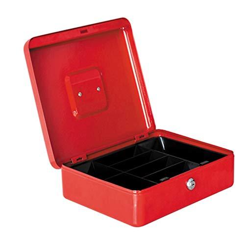 Caja de cambio de contraseña con cerradura caja de dinero portátil pequeña caja de hierro caja caja de caja de seguridad caja de escritorio joyería caja de almacenamiento