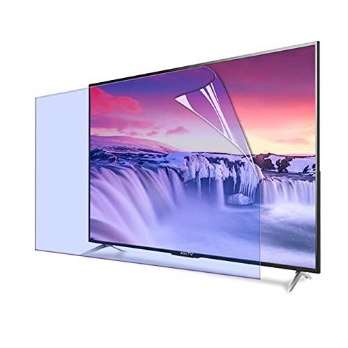 GFSD 27-75 Pulgadas Protector de Pantalla TV Blue Light, Película de Filtro Antideslumbrante Reducir La Fatiga Ocular para LCD, LED, OLED Y QLED 4K HDTV