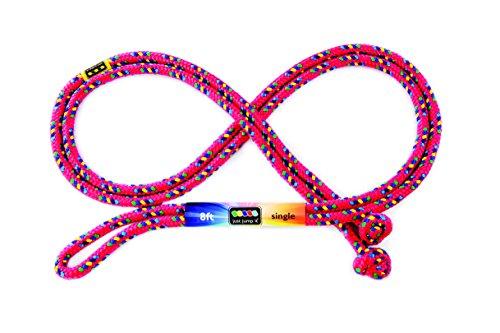 Just Jump Il C8RD Rouge Corde - sauter Confettis - 8 pi