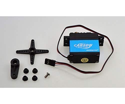 Carson Servo CS-17 Waterproof JR-Stecker, Modellbau, Zubehör für RC Fahrzeug ferngesteuertes Auto, 500502048