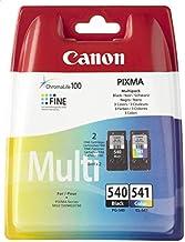 Canon PG-540 / CL-541 cartucho de tinta Negro, Cian, Magenta, Amarillo - Cartucho de tinta para impresoras (Negro, Cian, Magenta, Amarillo, Canon PIXMA MG3150, PIXMA MX515, 10 - 70%, 10 - 35 °C, 15 - 35 °C, 10 - 70%)
