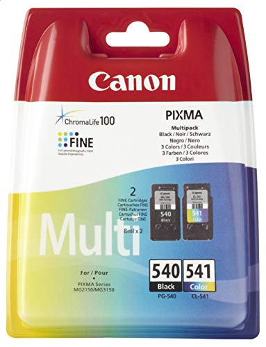 2Cartuchos de tinta para impresora Canon Pixma MX MX475 475, color negro original