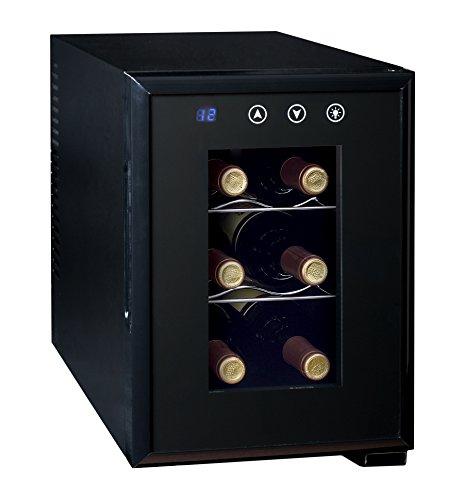 Ardes AR5I06V - Cantinetta Termoelettrica Per 6 Bottiglia di Vino con Luce Interna Classe Energetica A+