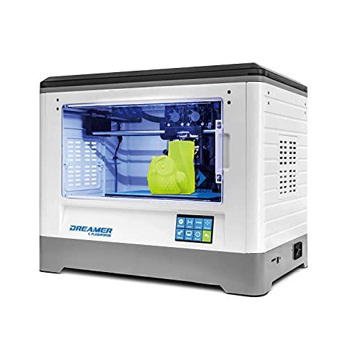 Flashforge Dreamer Impresora 3D Dual-extrusora con Clear Puerta y aficionados traseras