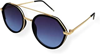 Farben Asymmetrical Frame Sunglasses 7067-C9