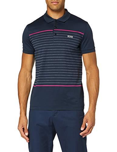 Photo of BOSS Men's Paule 8 Polo Shirt, Navy, S