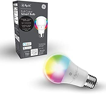 C by GE A19 Full Color Changing Smart LED Bulb with App Control