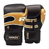 RDX S7 Bazooka - Guantes de Boxeo, Color Negro