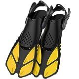 Best NEW Diving Fins - Greatever Snorkel Fins Adjustable Buckles Open Heel Swim Review