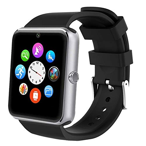 Willful Smartwatch, Reloj Inteligente Android con Ranura para Tarjeta...