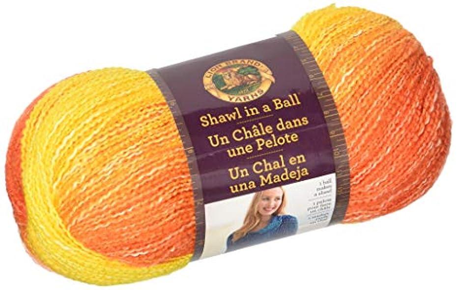 Lion Brand Yarn Shawl in a Ball Yarn, Zen Azalea