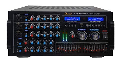 IDOLmain IP-5900 Professional 6000W Karaoke Mixing Amplifier/w Echo & Delay Control, Optical/HDMI Inputs New
