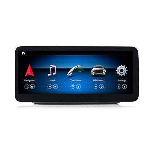 XXRUG Android Car Stereo Sat Nav para Mercedes Benz Clase B W246 2011-2018 Unidad Principal Sistema De Navegación GPS SWC 4G WiFi BT USB Mirror Link Carplay Inalámbrico Incorporado