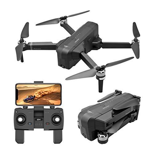 HJL 4K HD Camera Drone, Rc Drone Pieghevole Selfie Quadcopter, 5GHD Image Class 7 Resistenza al Vento del Telefono Mobile di Controllo, Adatto a concorsi/Sport/Aerial Photography,Nero