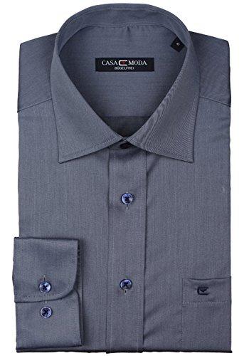 CASAMODA Uomini Camicia per ufficio 006140 manica lunga Comfort Fit