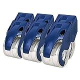 AmazonBasics - Nastro per imballaggio con dispenser, resistente, 4,5 x 20,2 cm, per spedizioni, traslochi e magazzini, confezione da 6